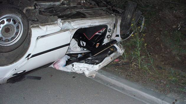 Noční nehoda na D1