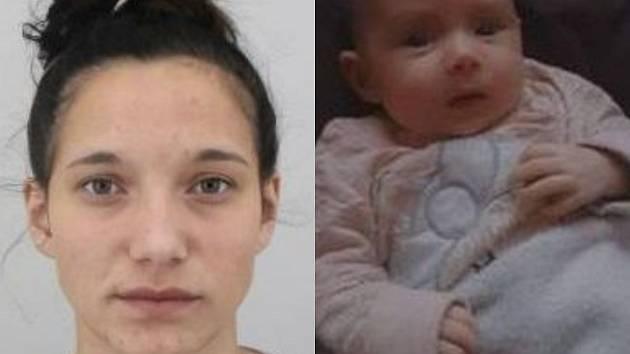 Sedmnáctiletou dívku s kojencem hledají kriminalisté.