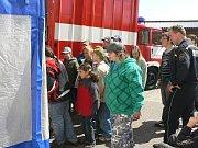 Profesionální hasiči na Pelhřimovsku otevřeli od pátku do neděle své brány široké veřejnosti.