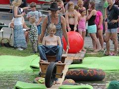Na rybníce v Putimově vládne vždy na konci července už téměř celé desetiletí skvělá nálada.