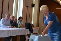 I Humpolečtí volí do Evropského parlamentu.
