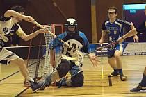 Florbalisté Pelhřimova I. ligu nakonec zachránili. Králův Dvůr v  barážové sérii přehráli 3:1 na zápasy.