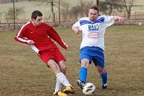 Jediný gól byl k vidění v zápase béček Žirova a Černovic. Střepina vyhrála zásluhou trefy Moravy.