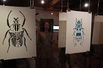 V sobotu 6. července začala v Galerii Bernarda Bolzana výstava, která nese název: Lucie Tatarová – Hmyz a brouci, Petr Cempírek – Zahrady.