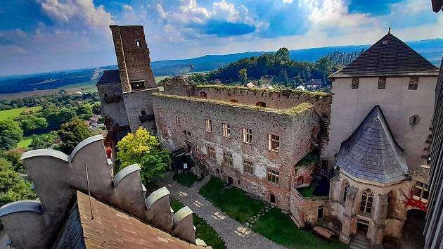 Hrad v Lipnici nad Sázavou