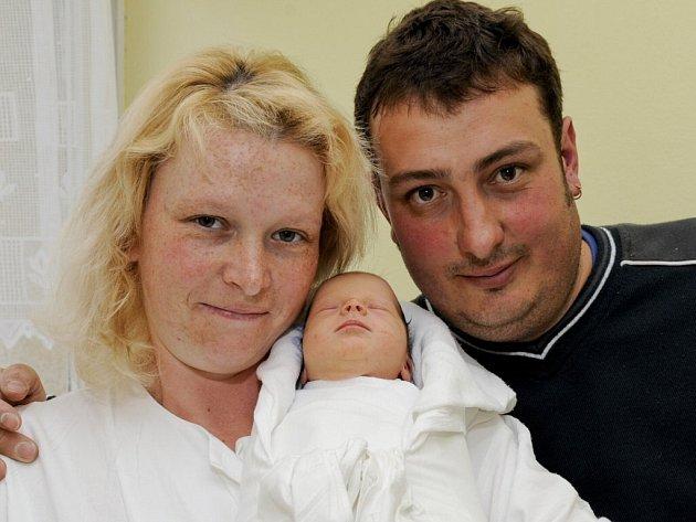 Tereza Lešková, 4. května 2009, Ústrašín, váha: 2450 g