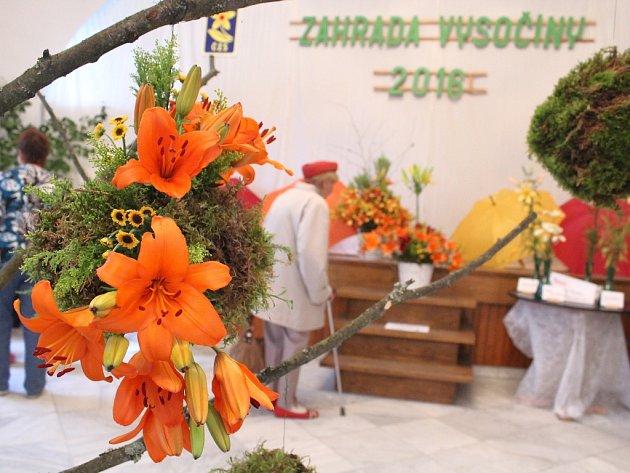 Obdivovat krásné a voňavé lilie všech barev, které zaplnily po uplynulé tři dny areál žirovnického zámku, přišli milovníci těchto květin i během pondělního dne.