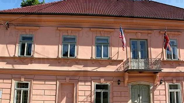 Zámek v Hořepníku.
