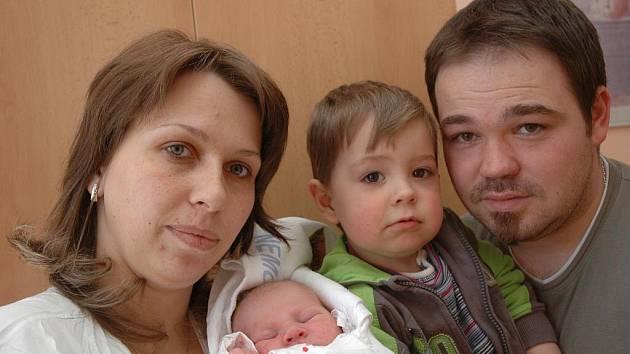 Michaela Říhová, 19. dubna 2010, Košetice, 3 850 g