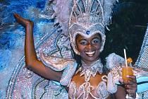 Tančící  kráska z Kuby.