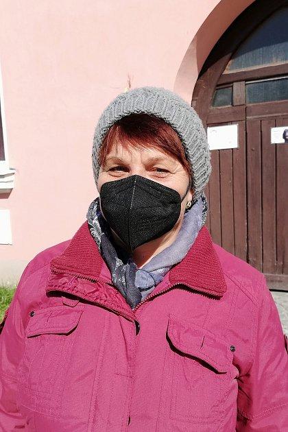 Hana Širmarová, 60let, důchodkyně