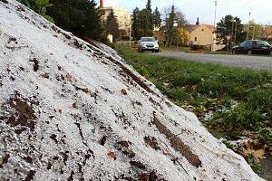 Na Pelhřimov zaútočily první sněhové vločky