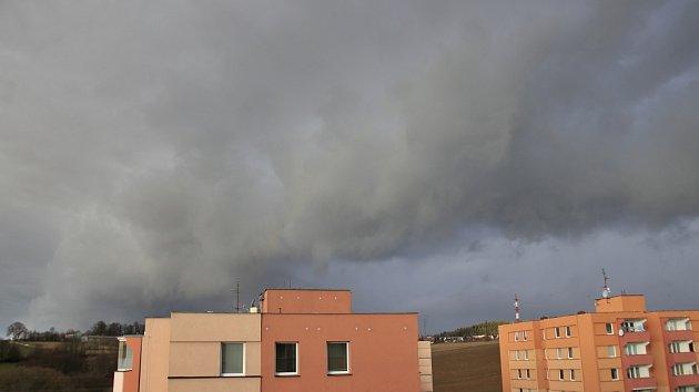 Orkan Sabine na Vysočině