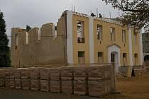 V Červené Řečici předělávají bývalou školu předělávají na sedm bytů s pečovatelskou službou.