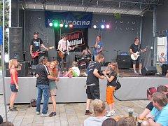 Malý letní rockový festival se v Pelhřimově povedl.