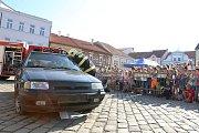 Den bez aut v Pelhřimově.
