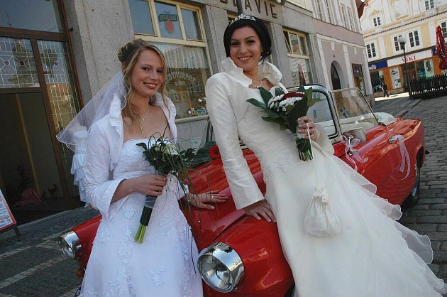 Svatební veletrh v Pelhřimově.