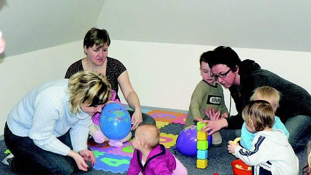 Nově otevřené mateřské centrum Lvíček