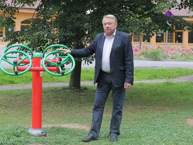 Pelhřimovský starosta František Kučera (na snímku) prozradil, že odborníci pracují na projektu revitalizace městských sadů.