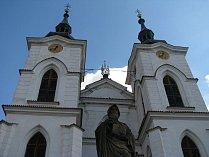 Kostel Narození Panny Marie - klášter Želiv