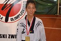 Sebastian Akhlas vybojoval v Polsku zlatou medaili.