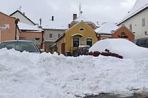 V minulých letech jsme sněhové nadílce odvykli.