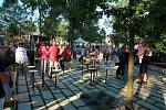 Obnovený humpolecký park Stromovka byl slavnostně otevřen v pátek 7. června a hned ukázal, že v něm bude vládnout pohoda.
