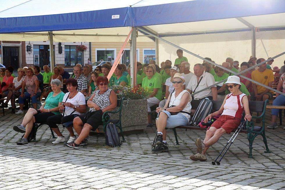 V Pelhřimově oslavili sté výročí od založení místního Klubu českých turistů a zahájili novou sezonu.
