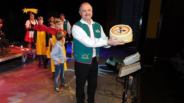 Novoroční koncert, který se konal vKulturním domě Máj vPelhřimově v neděli 5. ledna.