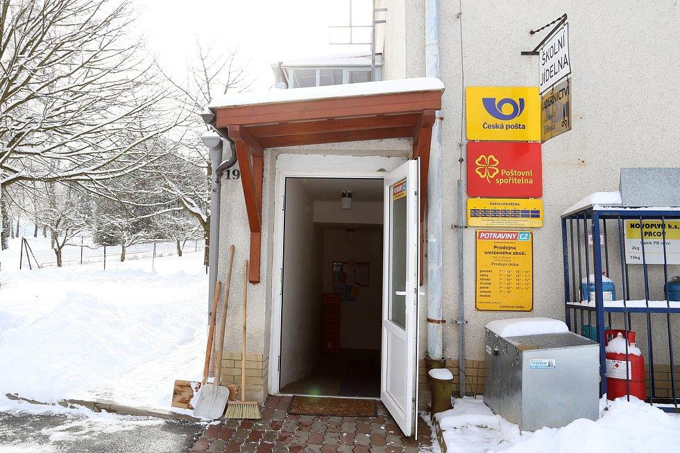 Pošta v Obratani.