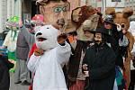 Maskám opět patřilo centrum Pelhřimova.