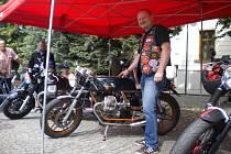 Sraz příznivců motocyklů italské značky Moto Guzzi.