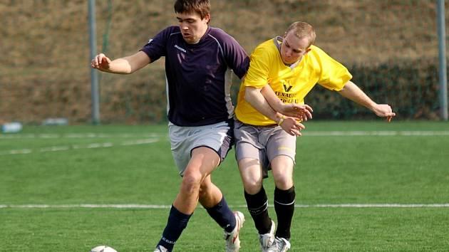 Gólů jako máku bylo k vidění v zápase Humpolce B s Horní Cerekví. Nakonec se zrodila remíza, když hosté vyrovnali v poslední minutě gólem z penalty.