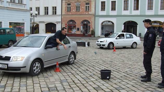 Motoristická soutěž Řidič Vysočiny.