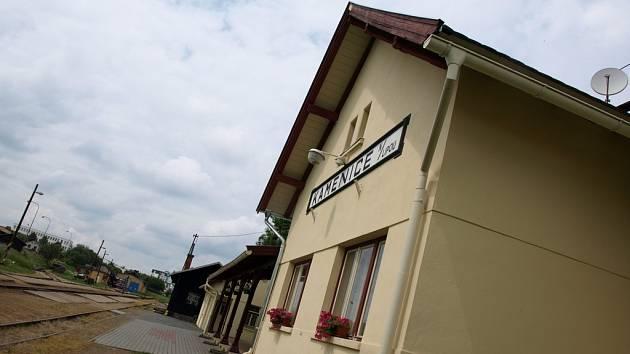 Vlakové nádraží v Kamenici nad Lipou