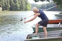 V pondělí dopoledne hygienici opět odebírali vzorky z přírodních vod využívaných na Pelhřimovsku ke koupání.