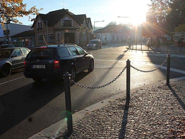 V roce 2016 se dočkala oprav křižovatka v Humpolci.