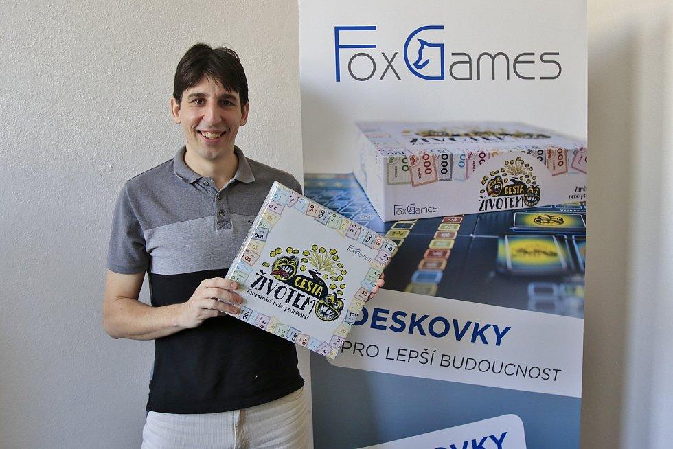 Autor deskové hry Petr Liška.