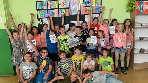 Žáci ze Základní školy Na Pražské v Pelhřimově se zapojili do výzvy Pražská se hýbe!