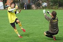 Fotbalisté Lukavce mají za sebou výtečný podzim. Vybojovali pětadvacet bodů, prohráli jen jednou. Polovinu soutěže končili sedmi vítězstvími v řadě.