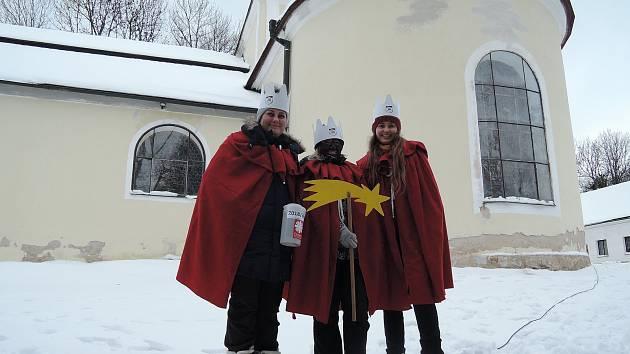 Tříkrálový pochod 2019 z Pelhřimova na Křemešník.