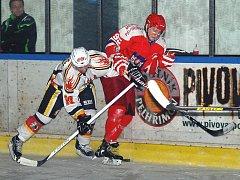 Pelhřimovští hokejisté ve dvou posledních sezonách hráli druholigové play off. Teď se řeší otázka, zda bude vůbec hokej na této úrovni ve městě pokračovat.