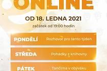 V Pelhřimově odstartovali online program, který nabídne čtené pohádky, tančírnu z obýváku, rozhovory či zajímavosti města.