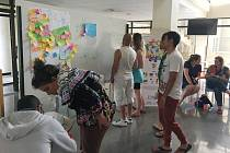Mladí lidé se sešli v Alicante.