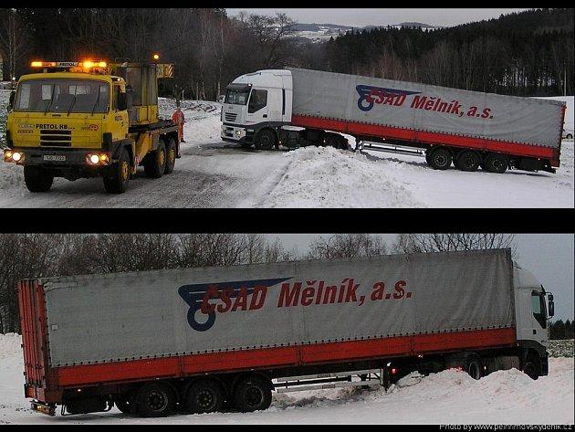 Kamion na poli