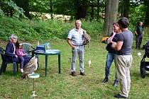 Ve Vyklanticích se v sobotu 17. srpna konalo zajímavé odpoledne s dravci.