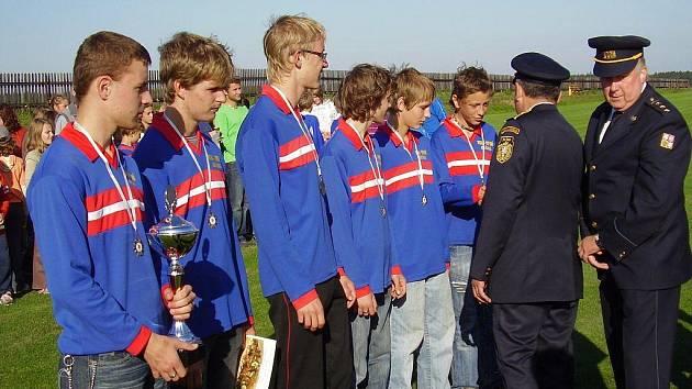 Sbor dobrovolných hasičů nejvíce spoléhá na družstvo mladých, které ve své poslední soutěži vybojovalo druhé místo.