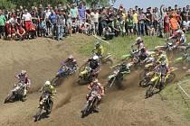 Víkend bude v Pacově patřit Mistrovství světa v motokrosu ve třídách MX3 & Women. Trať zůstala stejná jako byla letos na mistrovství republiky v motokrosu (na snímku).