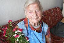Marie Matoušková se těší ze dvou dětí, dvou vnoučat a pěti pravnoučat.