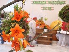 Oblíbená výstava s názvem Zahrada Vysočiny se letos koná už počtyřiapadesáté a každoročně se těší velikému zájmu nejen milovníků květin.